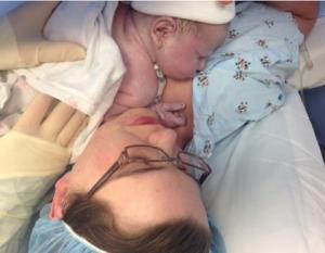 Cara and Baby Simon